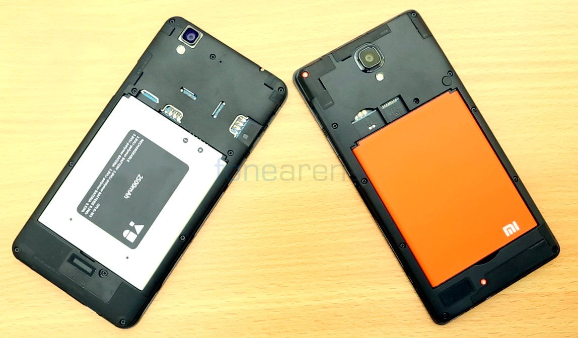 factory price bd754 eaa58 YU YUREKA vs Xiaomi Redmi Note 4G