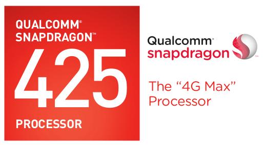 1.4GHz Quad-Core Qualcomm Snapdragon 425 Processor