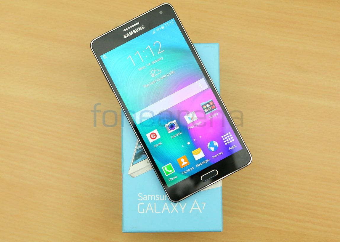 Samsung Galaxy A7: reviews. Samsung A7 Galaxy: characteristics 4