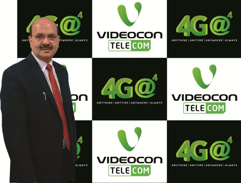 Videocon Telecom 4G announcement