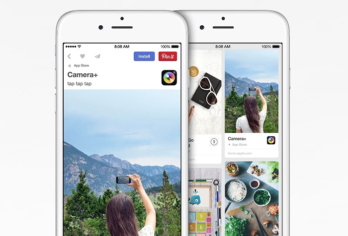 Now you can download iOS apps from Pinterest