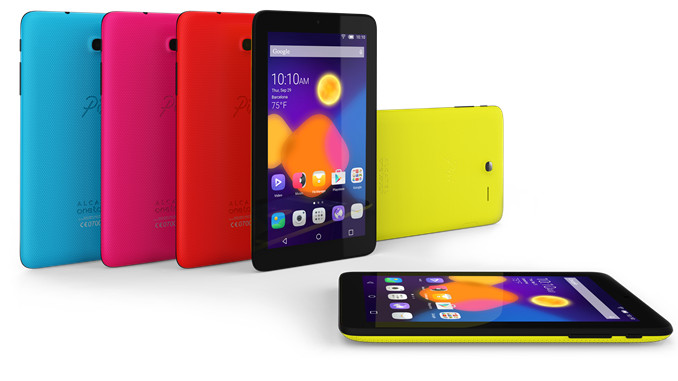 Alcatel OneTouch PIXI 3 smartphones and tablets announced