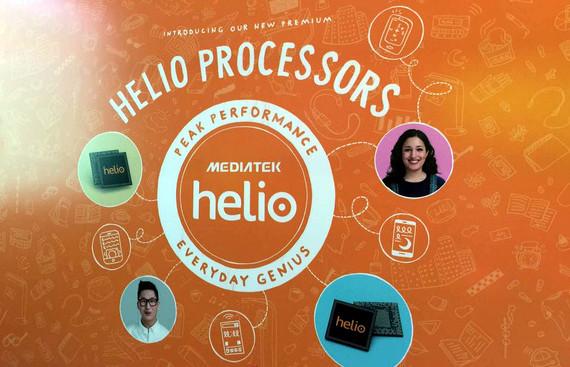Helio X processors