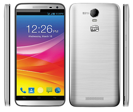 Micromax Canvas Juice 2 With Android 5.0, 2GB RAM, 3000mAh