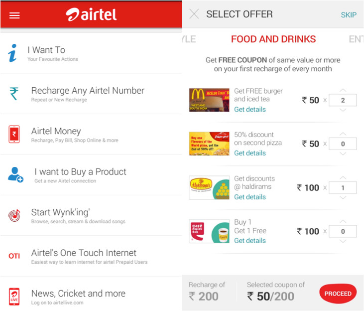 My Airtel app gets new design, 'Airtel Surprises' free coupons on