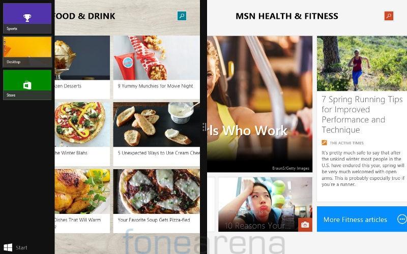 Swipe Ultimate 3G Windows Snap