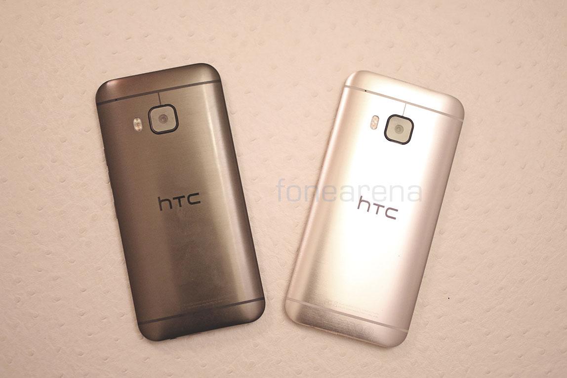 HTC One m9 - Silve Gold vs Gunmetal Grey