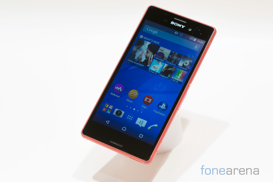 100% authentic f13c8 6c844 Sony Xperia M4 Aqua Dual waterproof smartphone launched in India for ...