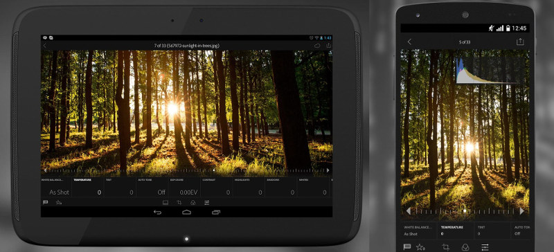 android tablet for photo editing