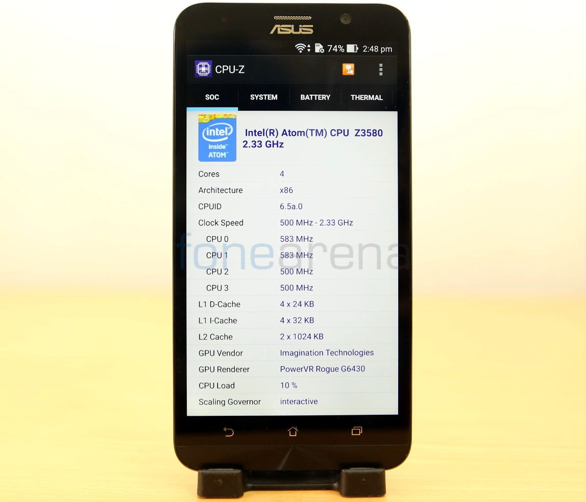 Asus Zenfone 2 Benchmarks Ze551ml With 4gb Ram And Quad