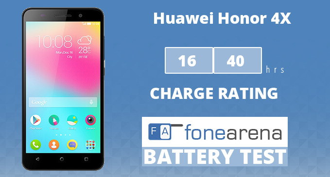 Huawei Honor 4X One Charge Rating