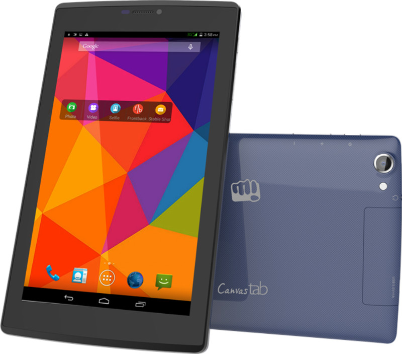 Micromax Canvas Tab P480 With 7-inch Display, Quad-core