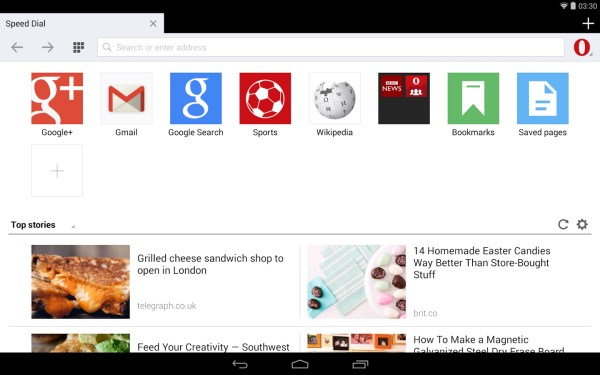 Opera Mini for Android gets redesigned UI and other features