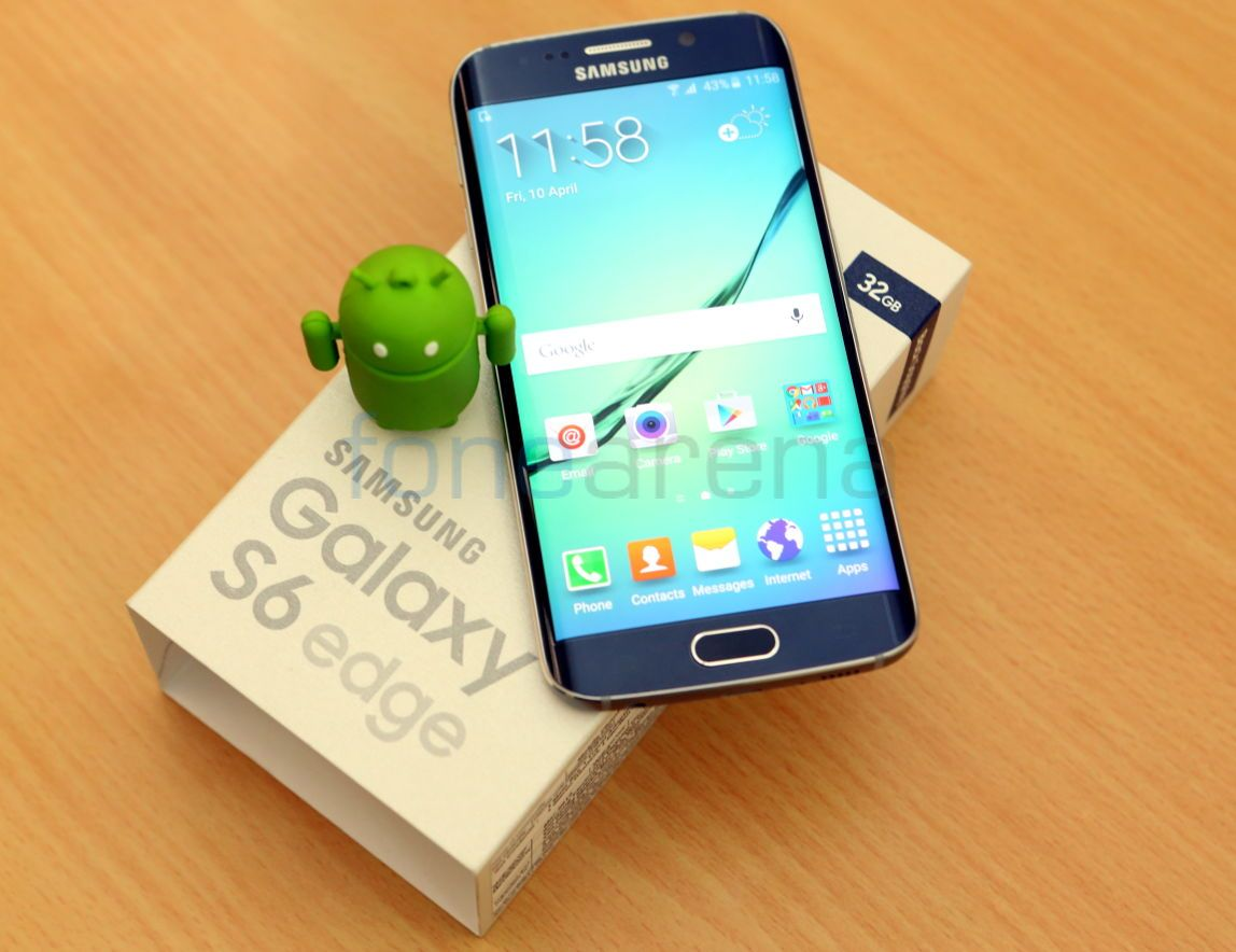 Samsung Galaxy S6 Edge Unboxing Note 32gb