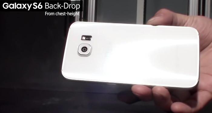 Samsung Galaxy S6 drop test