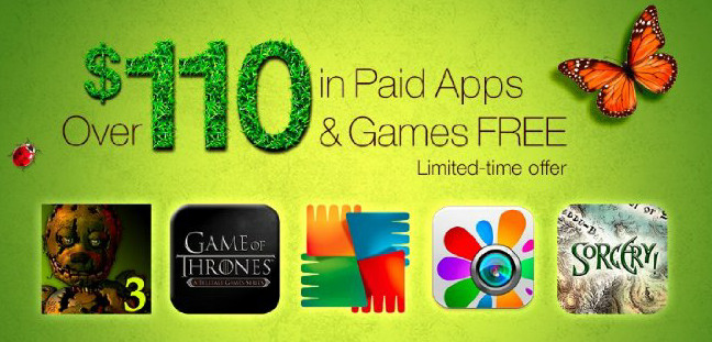 Amazon Free Apps May 2015