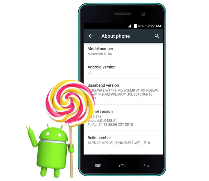 Micromax Unite 2 Android 5.0