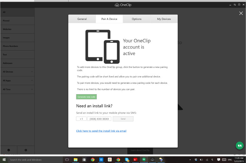 Microsoft OneClip leak