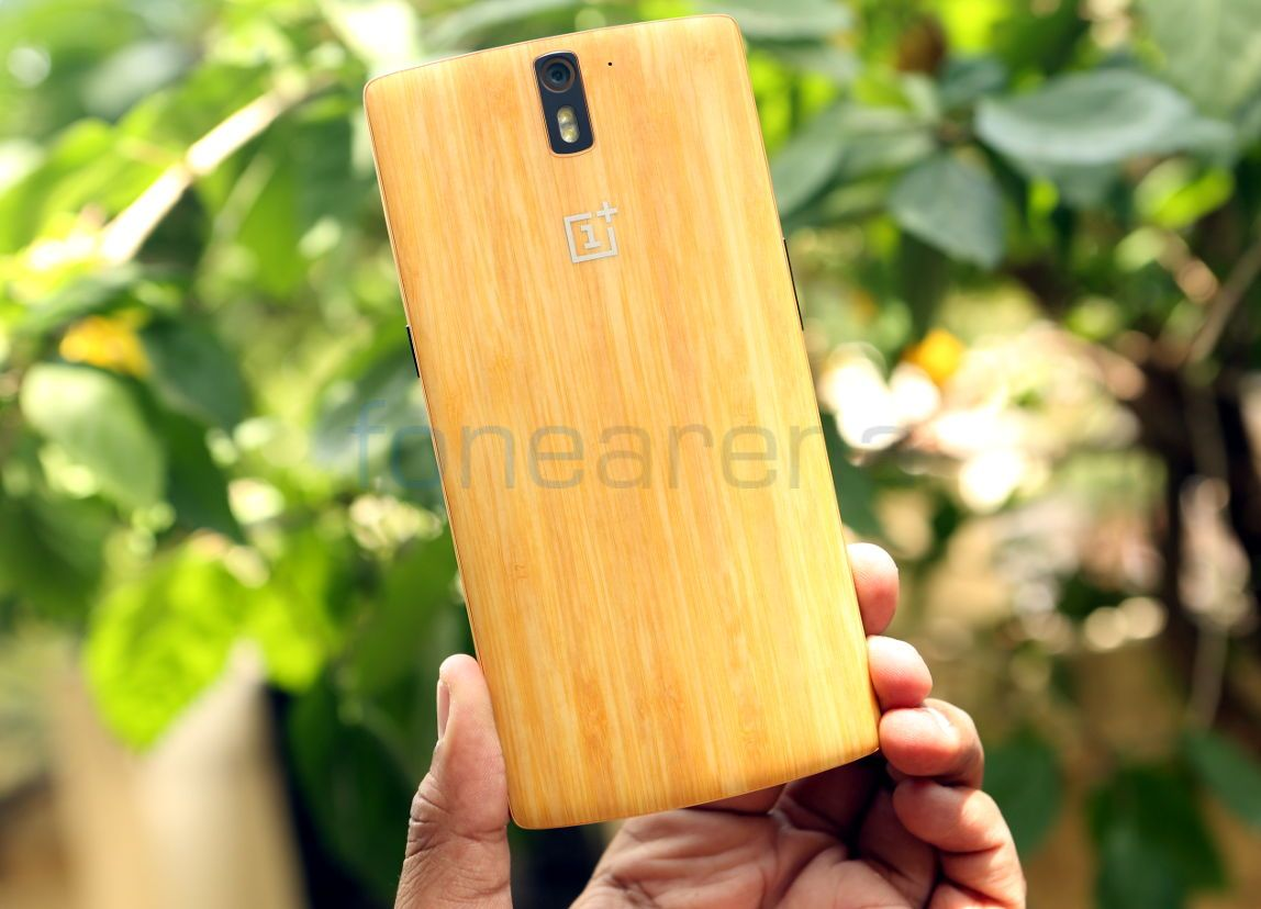 OnePlus One Bamboo Back Cover_fonearena-01