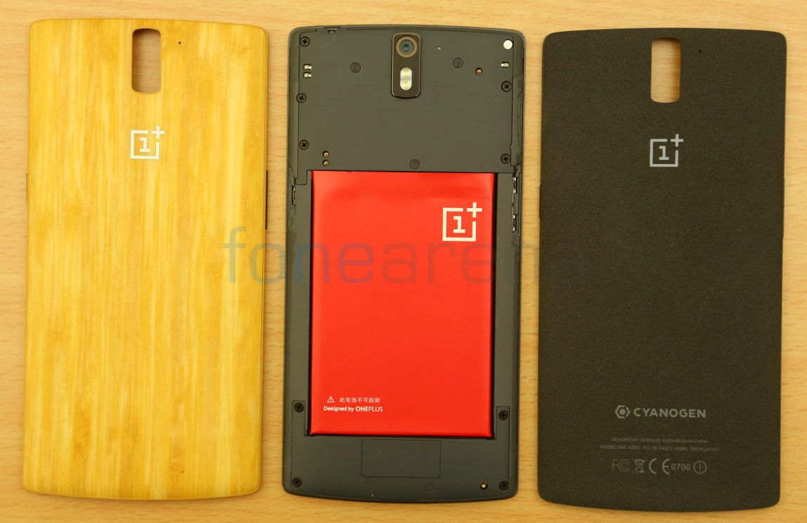 new product 909f4 0867c OnePlus One Bamboo StyleSwap Cover Unboxing