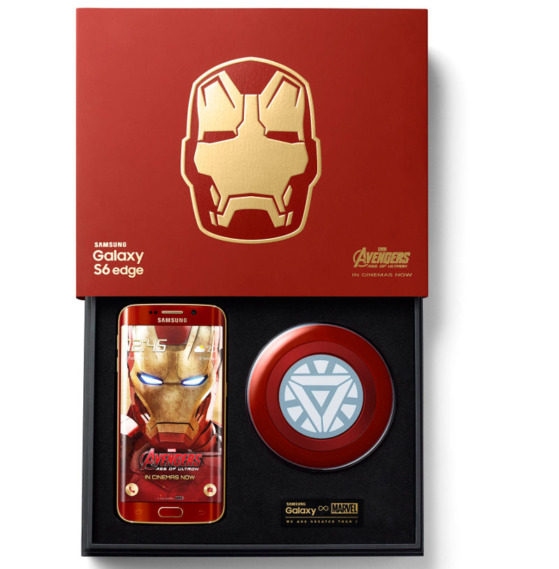 Samsung Galaxy S6 edge Iron Man Limited Edition Box