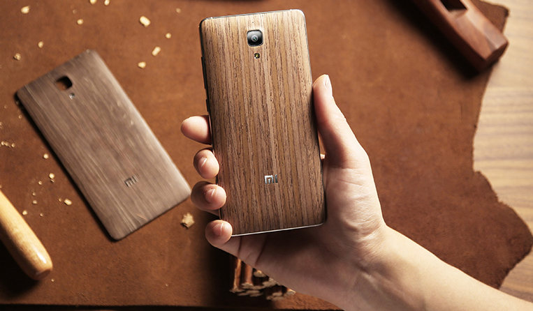 Xiaomi Mi 4 Wood Back cover