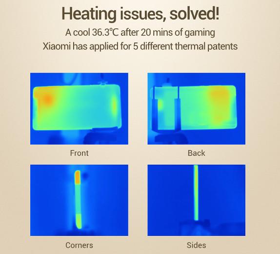 Xiaomi Mi Note Pro thermal