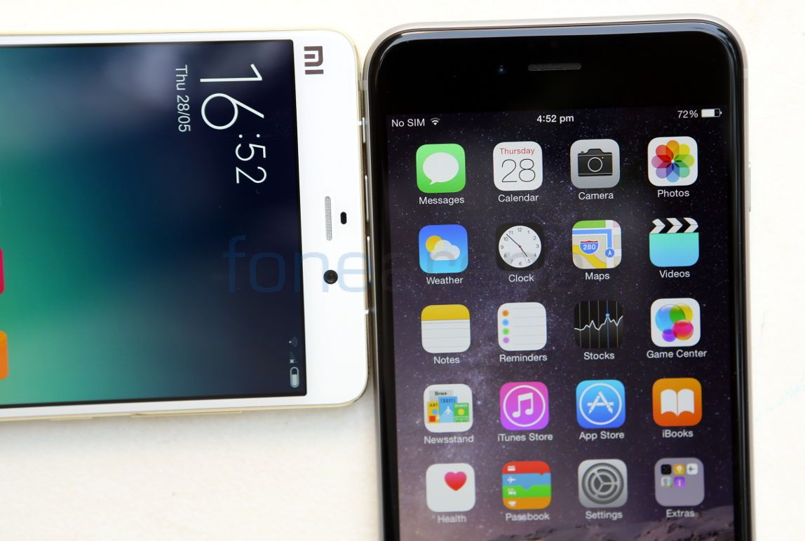 Xiaomi Mi Note Pro Vs Apple Iphone 6 Plus Photo Gallery