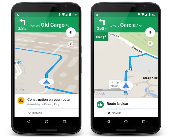 Google Maps Now Adds Live Traffic Updates And Alternate Route Options