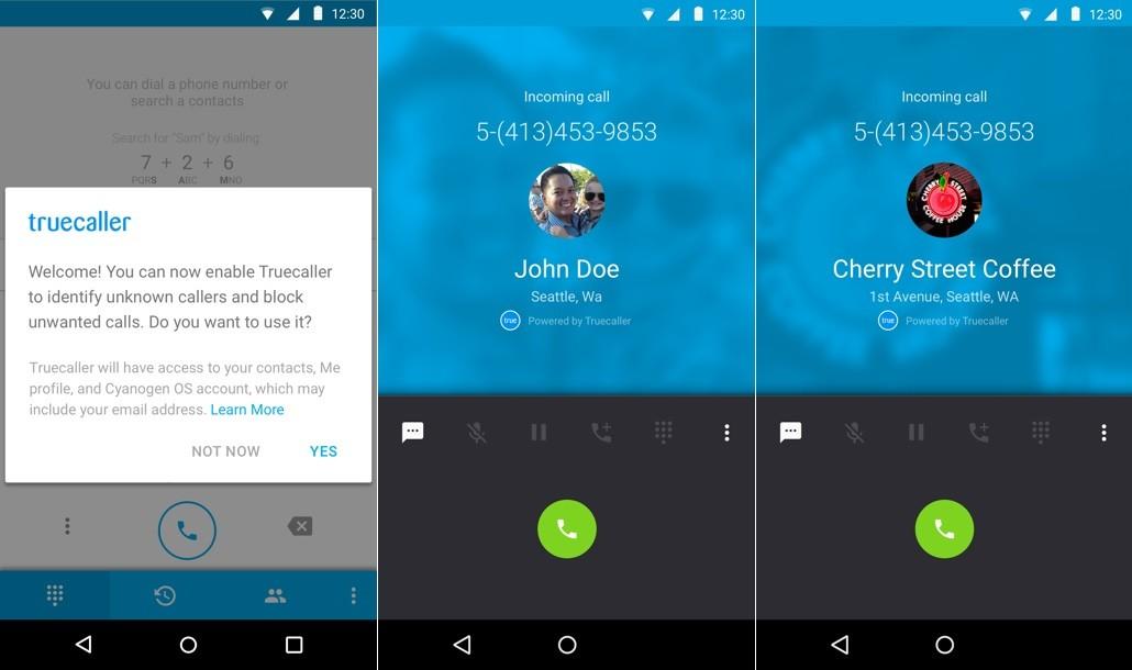 Truecaller teams up with Cyanogen for a new dialer app