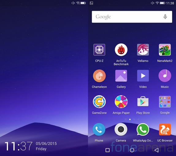 Gionee Elife S7 -1