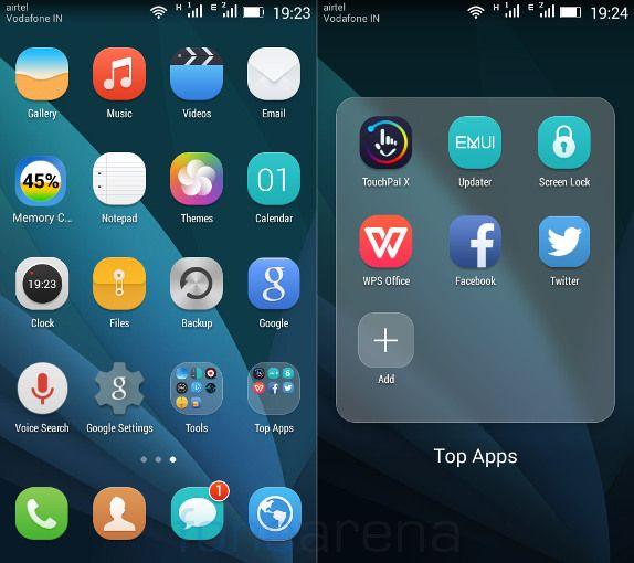 Huawei Honor Bee Apps