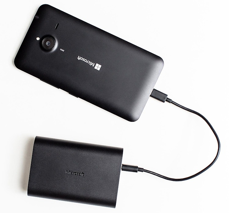 Microsoft 9000 mAh power bank