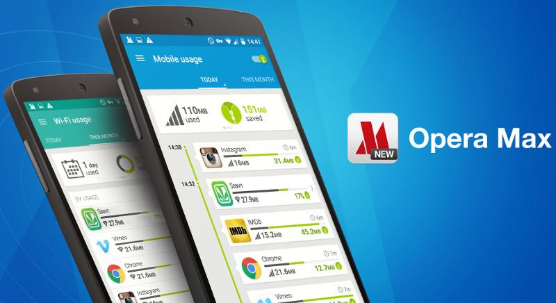 Opera Max Android
