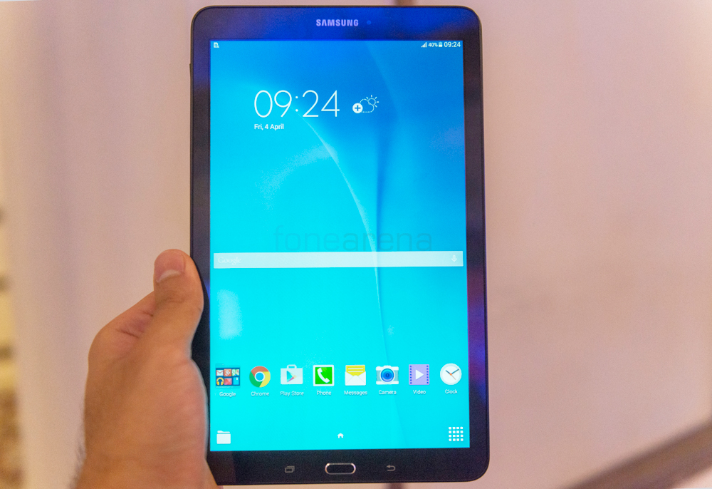 Samsung Galaxy Tab E Hands On and Photo Gallery