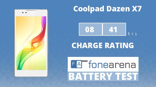 Coolpad Dazen X7 Battery Life Test