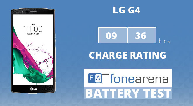 LG G4 FA One Charge Rating