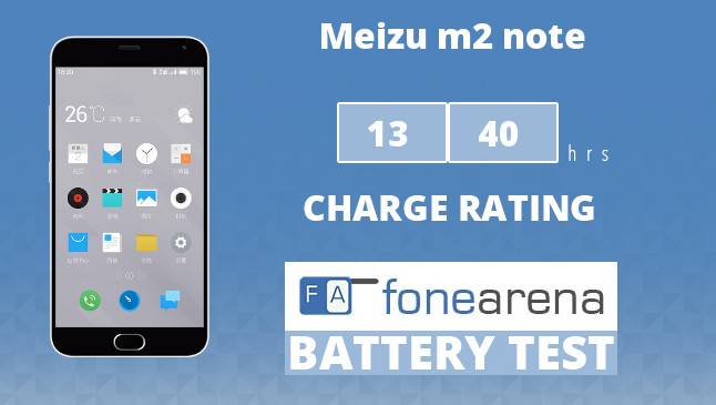 Meizu m2 note FA One Charge Rating