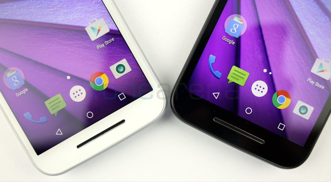 Motorola Moto G 3rd Gen 2015 White vs Black _fonearena-03