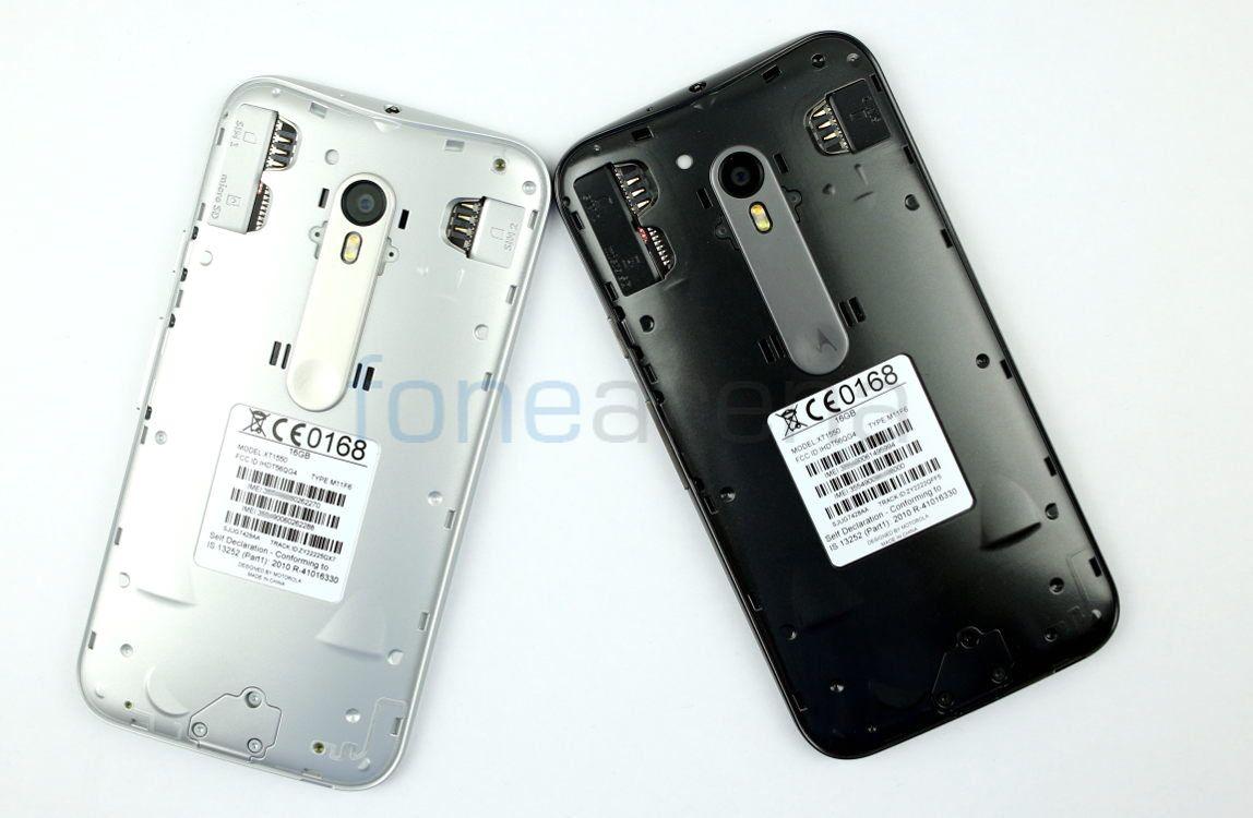 Motorola Moto G (3rd Gen) Black vs White Photo Gallery