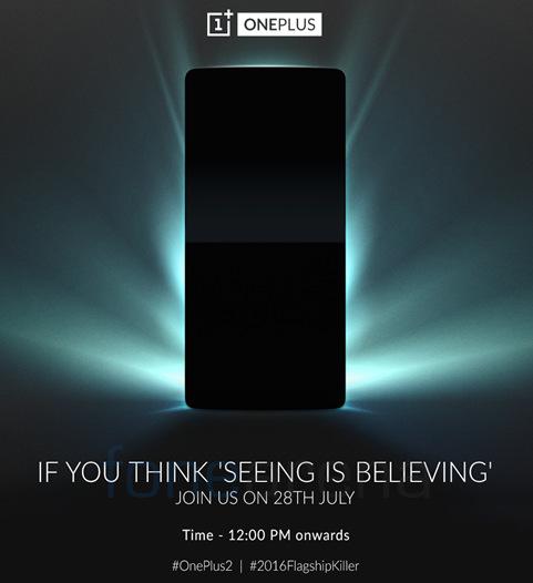 OnePlus India launch invite