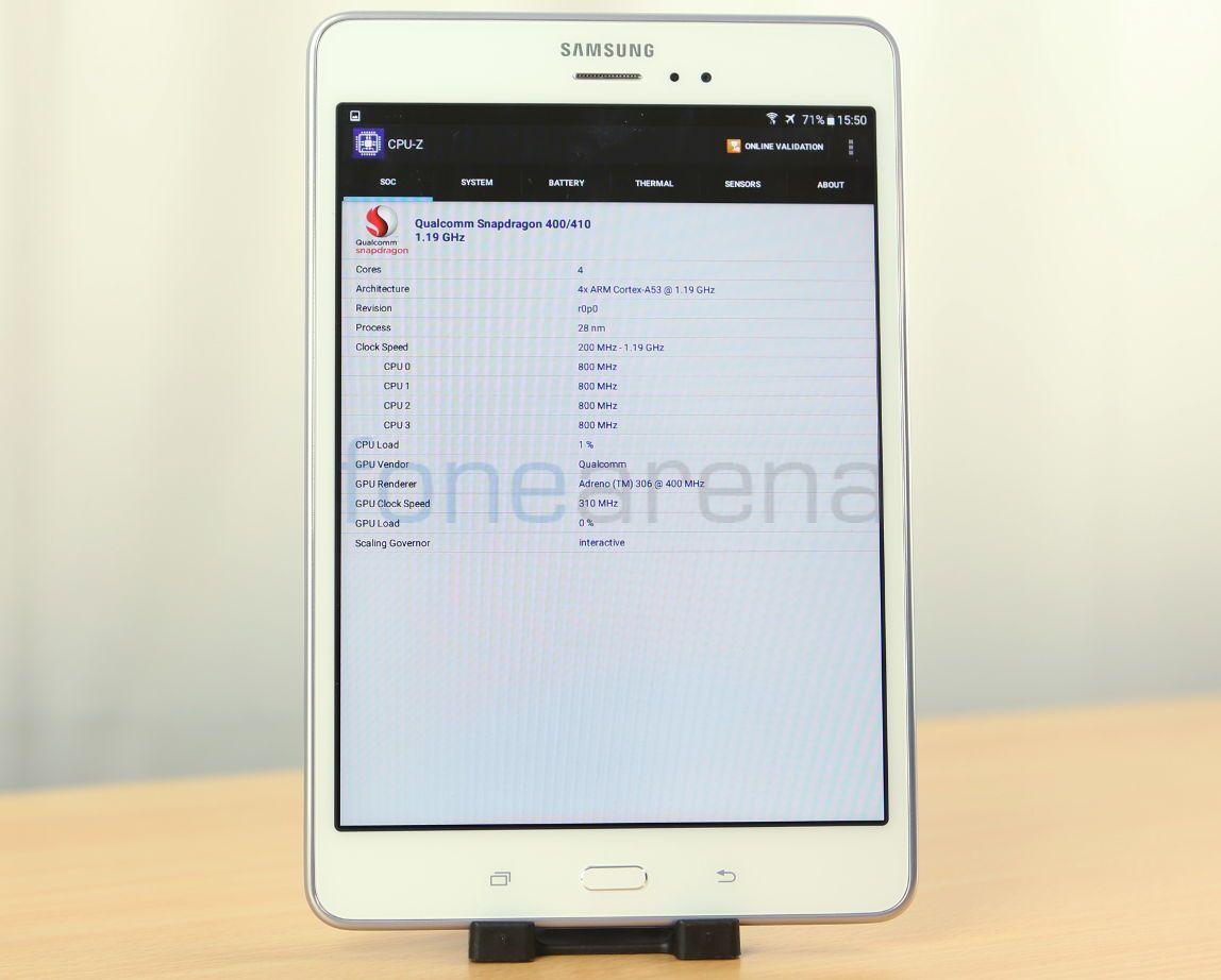 Samsung Galaxy Tab A Benchmarks_fonearena