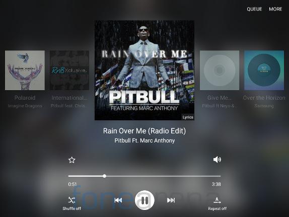 Samsung Galaxy Tab A Music