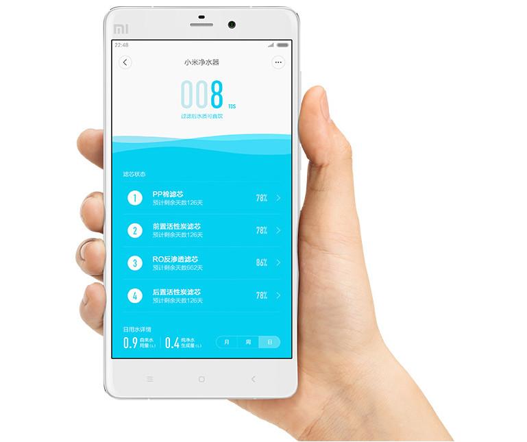 Xiaomi Mi Water Purifier app