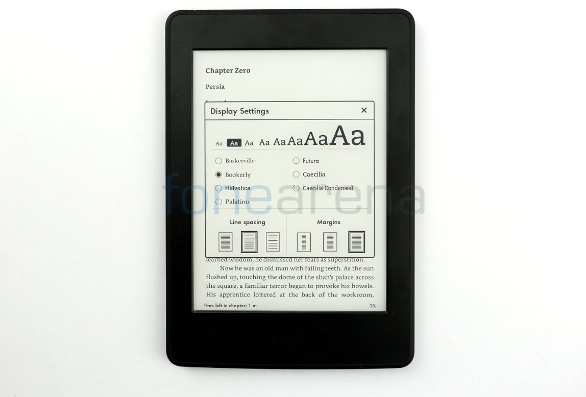 Amazon Kindle Paperwhite 2015 _fonearena-10
