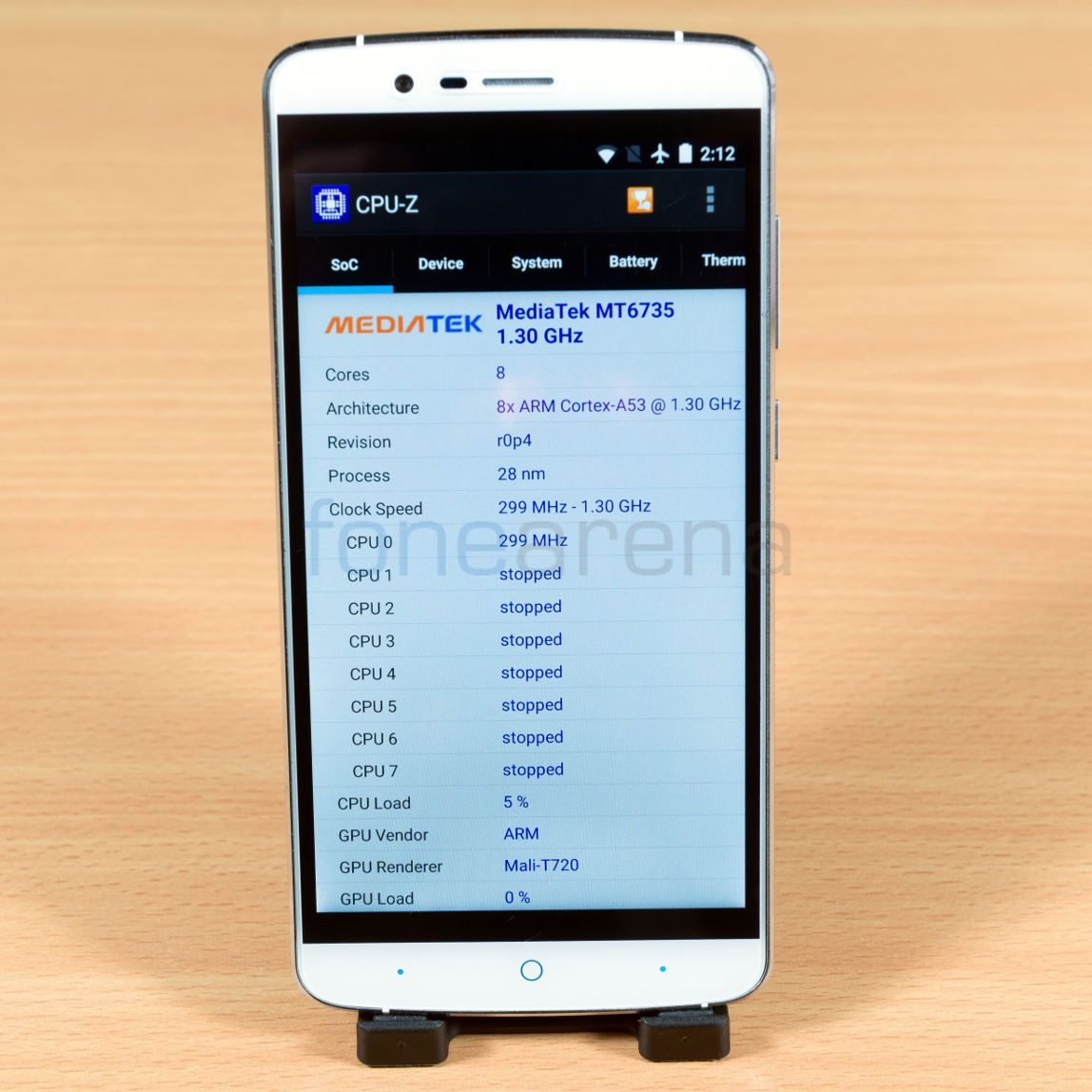 Elephone P8000 Benchmarks _fonearena