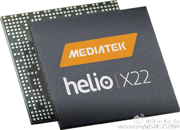 MediaTek Helio X22 leak