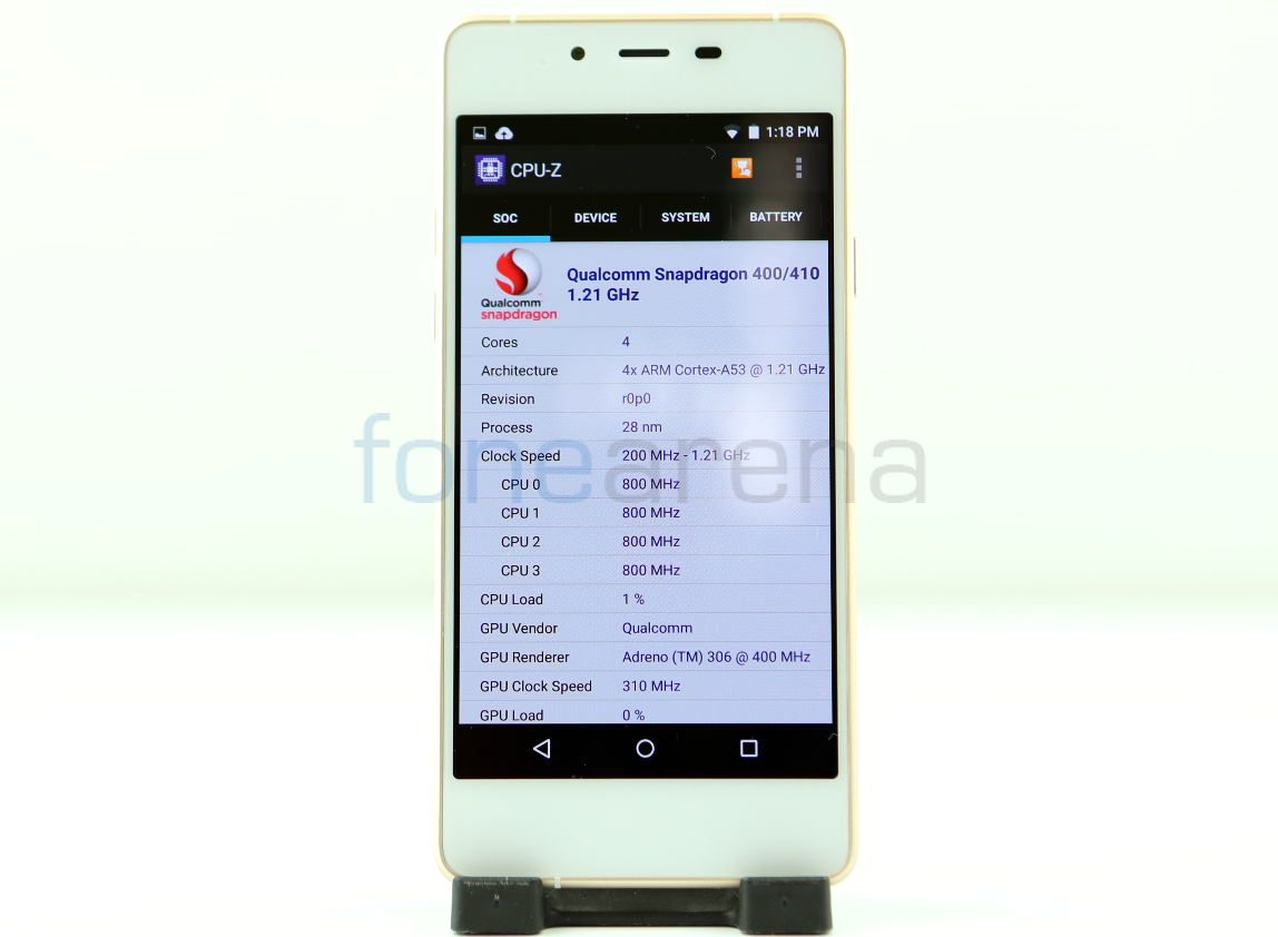 Micromax Canvas Sliver 5 Benchmarks _fonearena