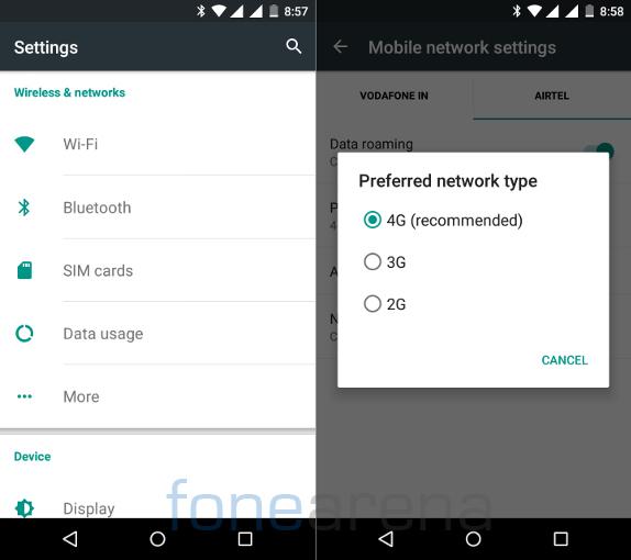 Motorola Moto G 3rd Gen Connectivity and Dual SIM