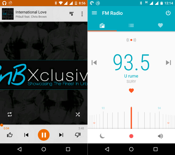Motorola Moto G 3rd Gen Music and FM Radio